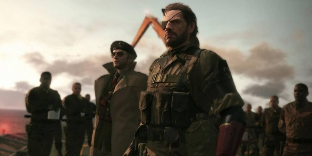 Metal Gear Solid V: The Phantom Pain requerirá 25GB de espacio en PS4
