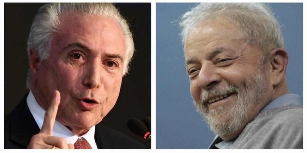 "Michel Temer: ""Lula da Silva no está muerto políticamente"""