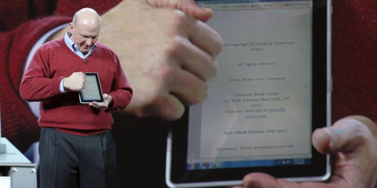 Microsoft no tendría su propia tablet hasta el 2012