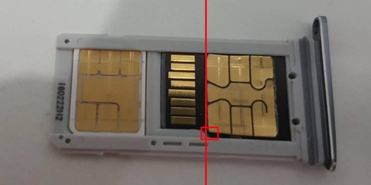 Este truco te permite insertar dos SIM y una microSD en el Galaxy S7