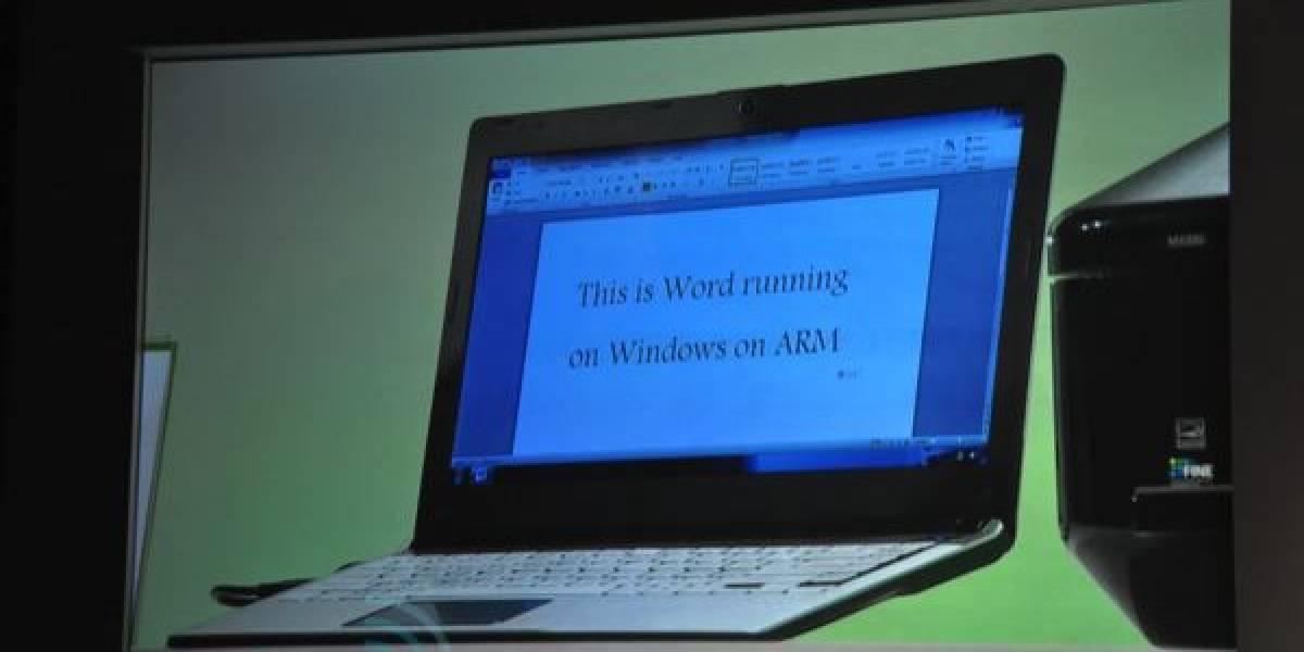 CTX2011: Los tres procesadores ARM para Windows 8