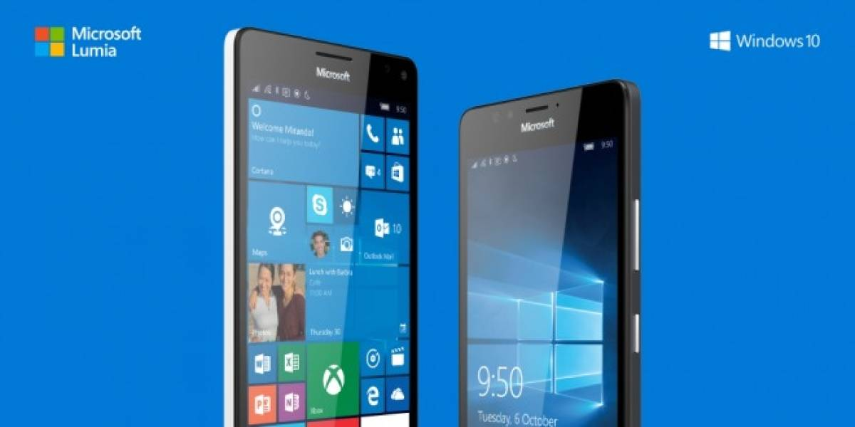 Microsoft presenta a los nuevos Lumia 950 y 950 XL