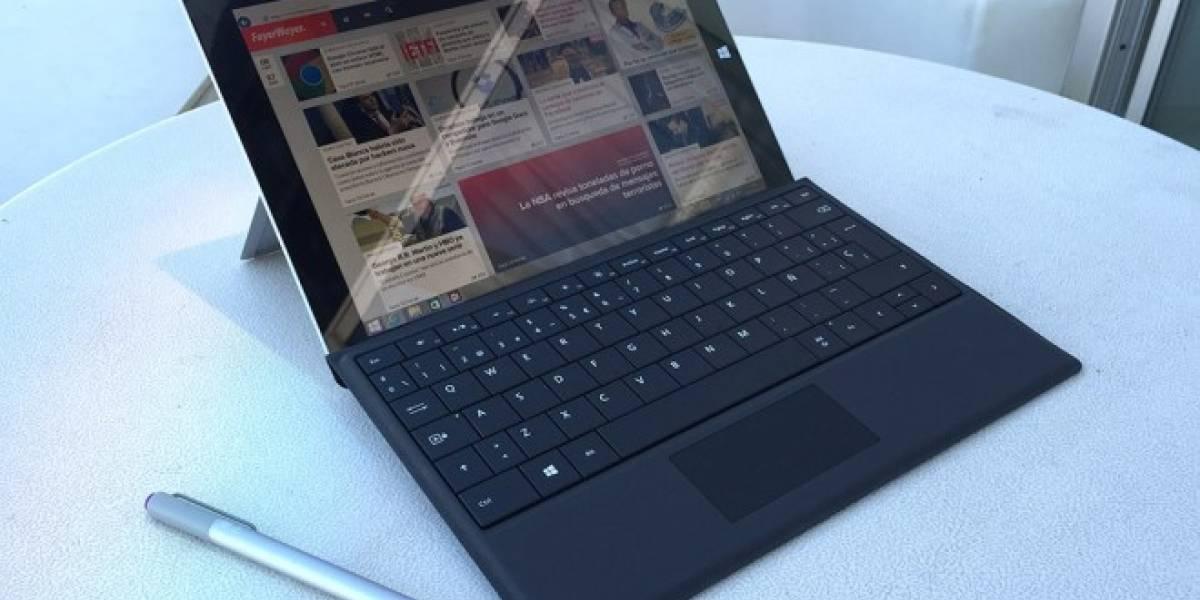Microsoft lanzará una versión de Surface 3 para escuelas