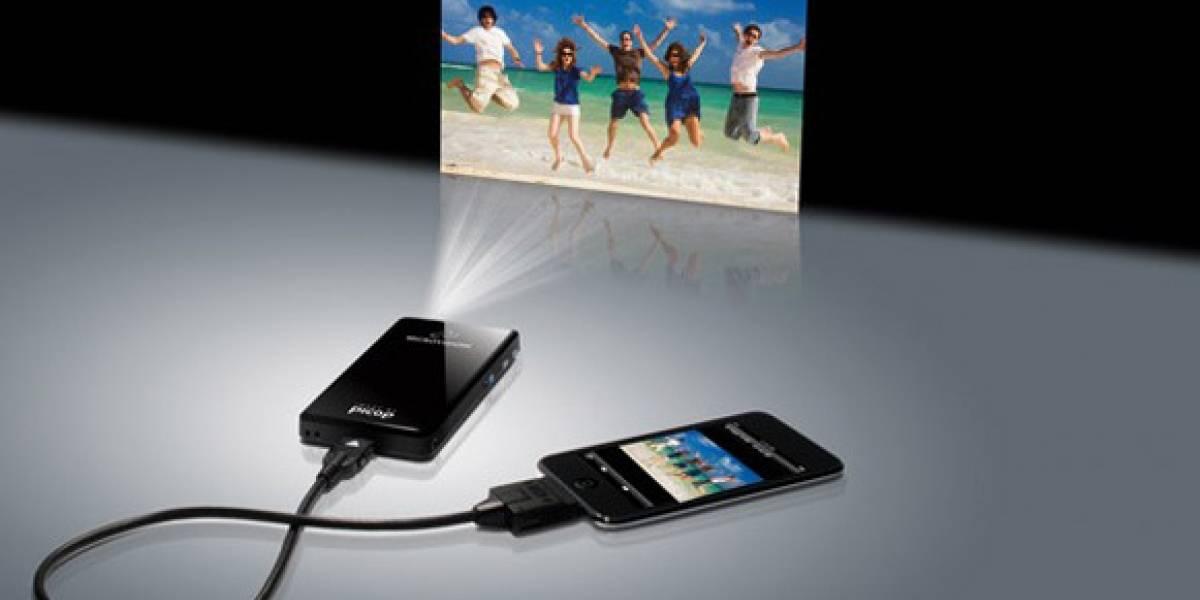 Un proyector de vídeo para tu móvil
