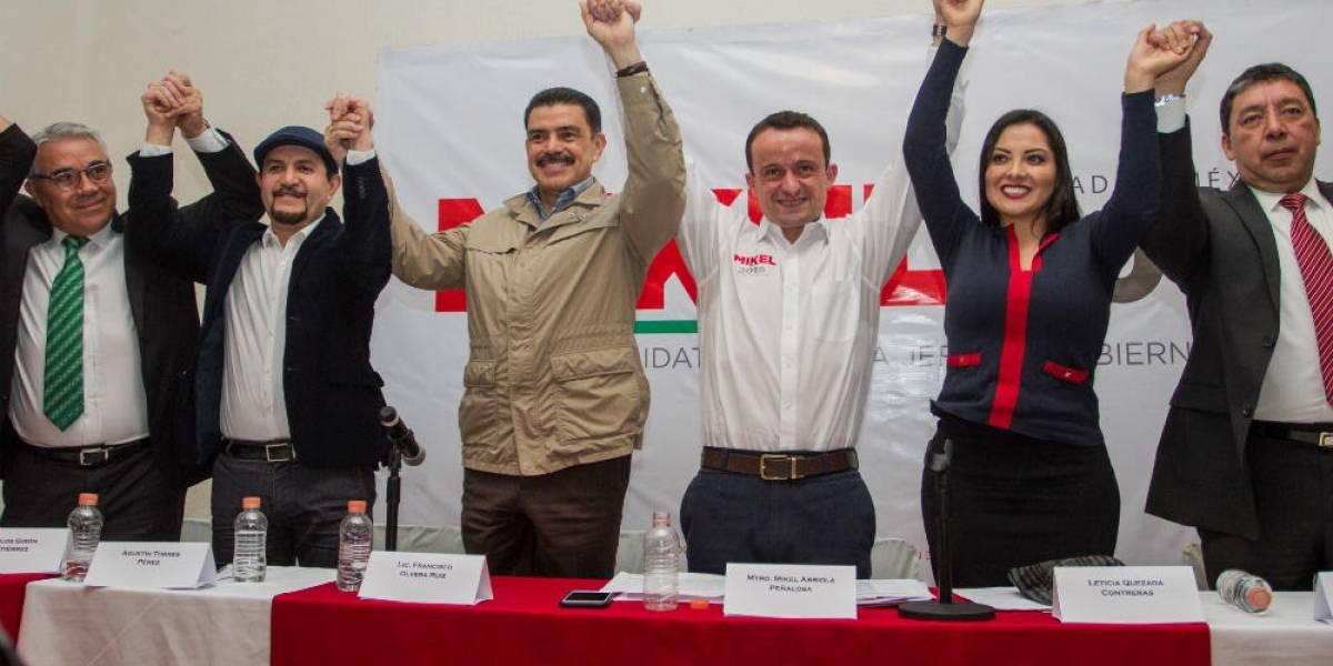 Ex delegados del PRD se suman a campaña de Mikel Arriola