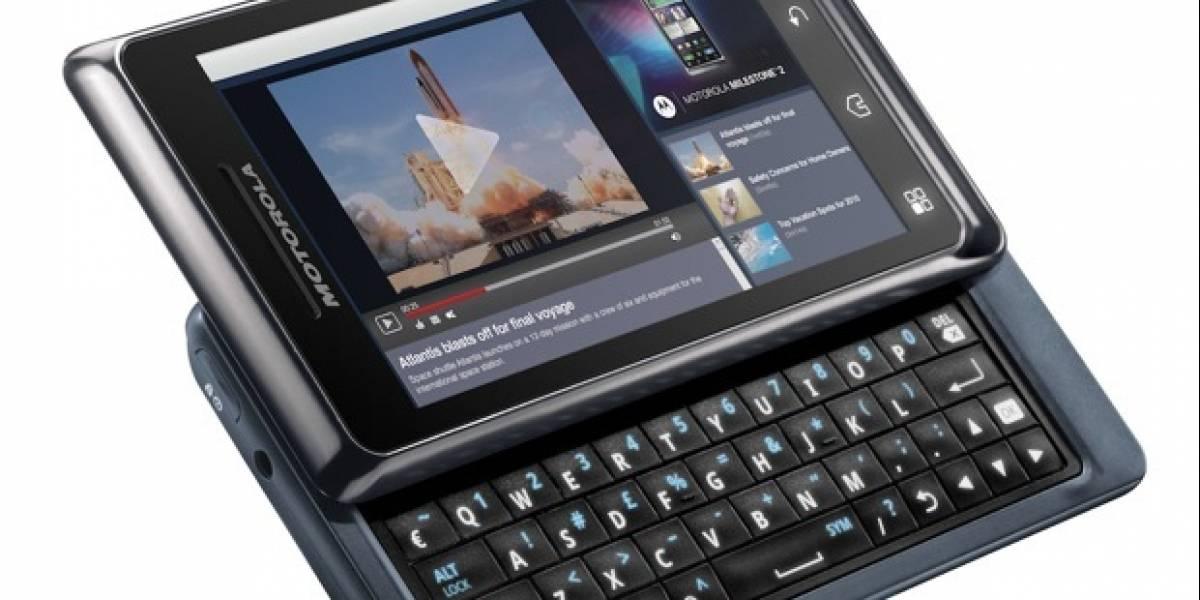 Motorola anuncia el Milestone 2 en México