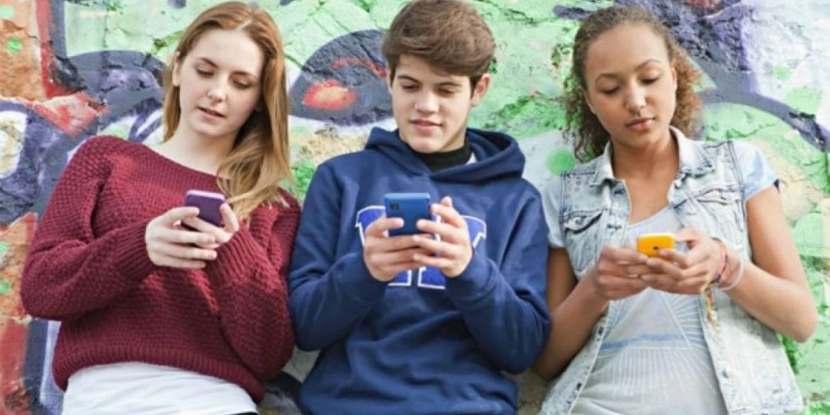 Estudio indica que sólo un 6% de los jóvenes usa un smartphone para llamar