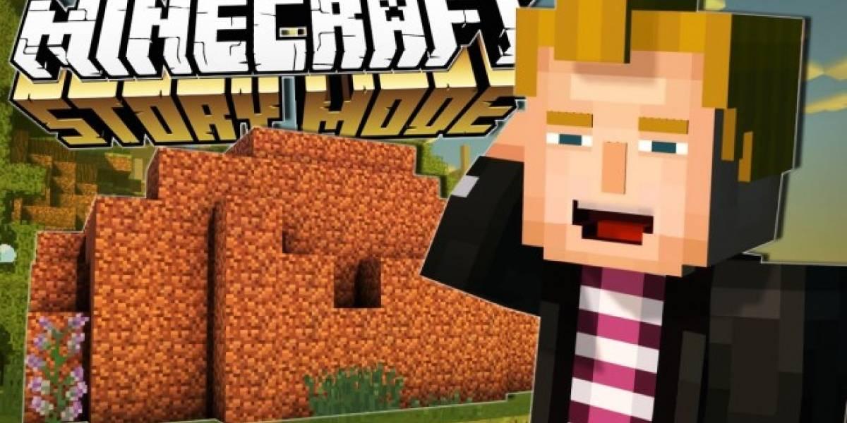 Juega el primer episodio de Minecraft: Story Mode en tu móvil por menos de un dólar