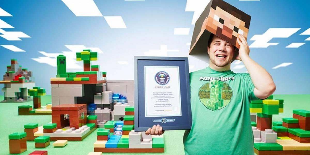 Minecraft tiene 12 récords en el Libro Guinness de Videojuegos 2015