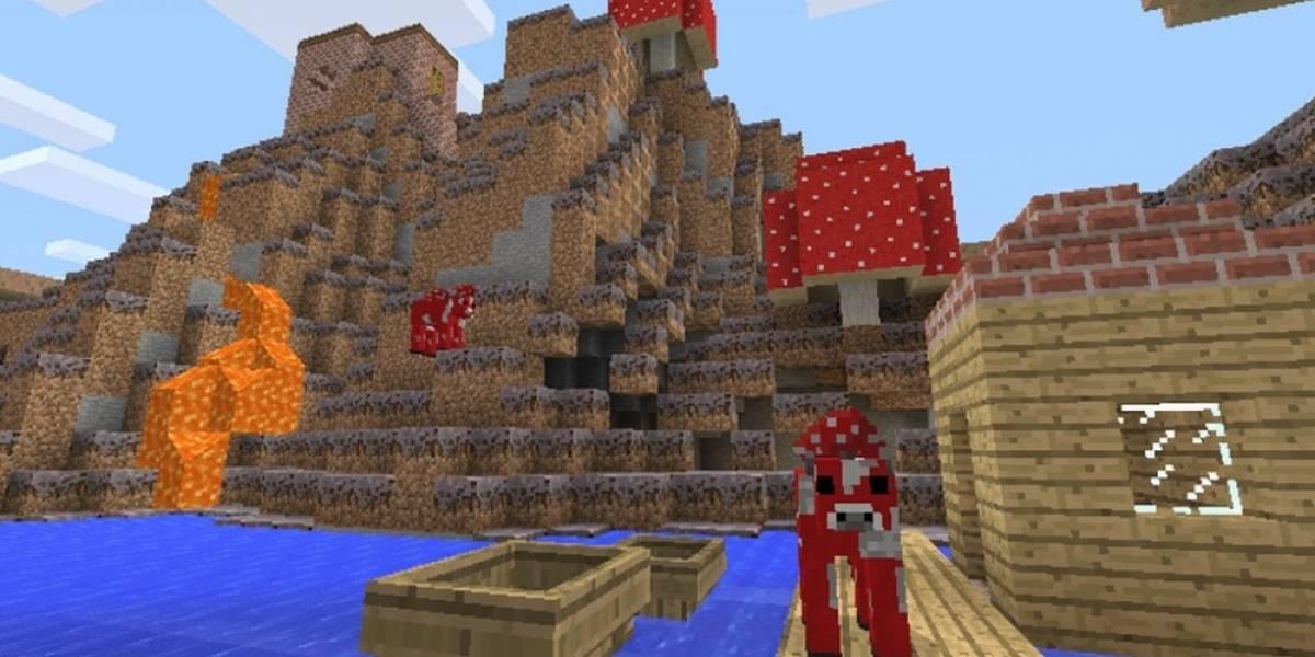 Así se juega Minecraft en PS Vita