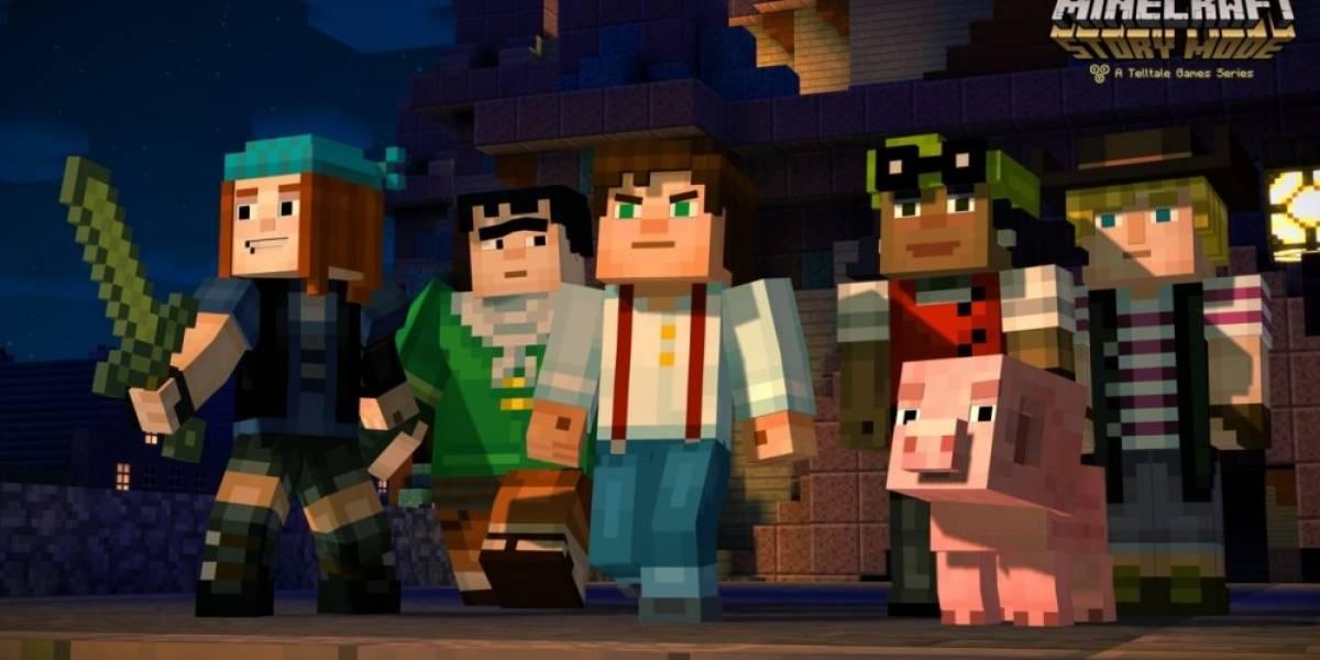 Minecraft: Story Mode recibe su primer tráiler