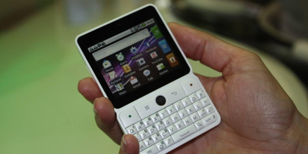 MWC2011: U8300, el mini-smartphone de Huawei