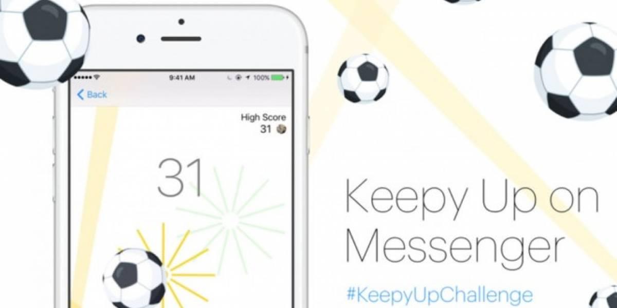 Descubre el nuevo mini juego de fútbol en Facebook Messenger