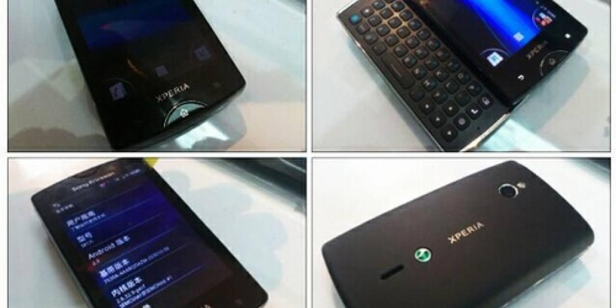 Filtran más fotos del sucesor del Xperia X10 Mini Pro