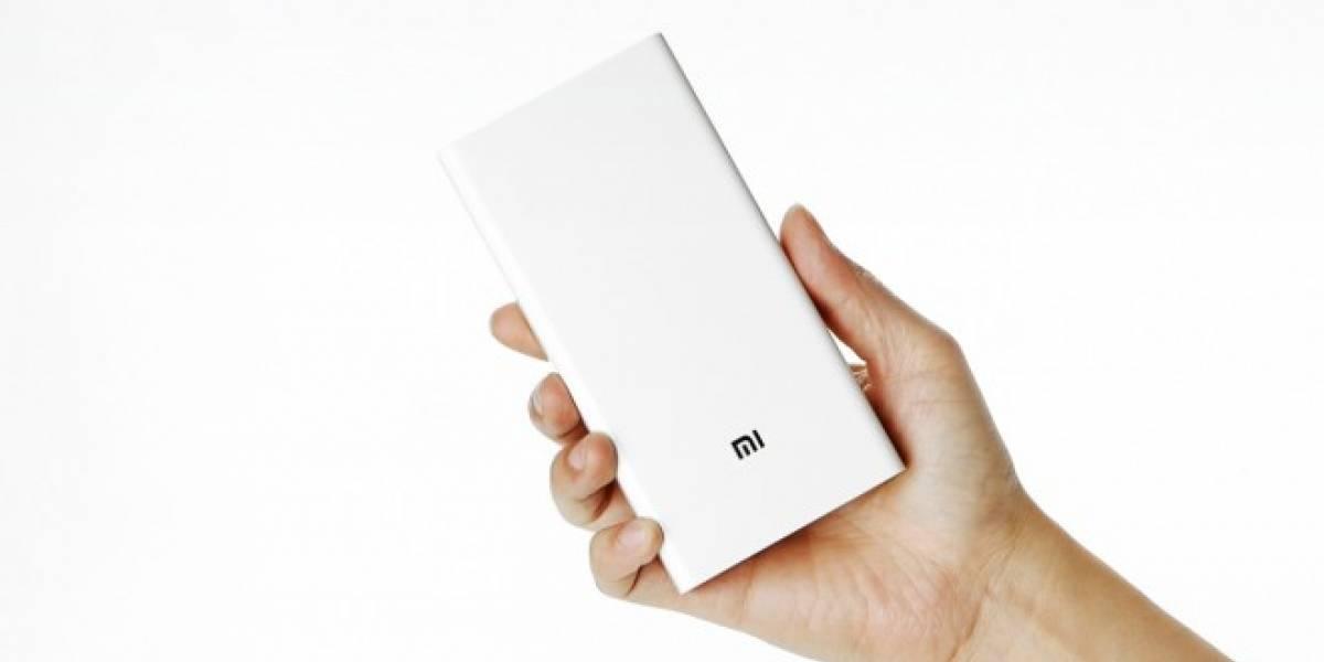 Xiaomi lanza batería externa de 20.000 mAh con carga rápida