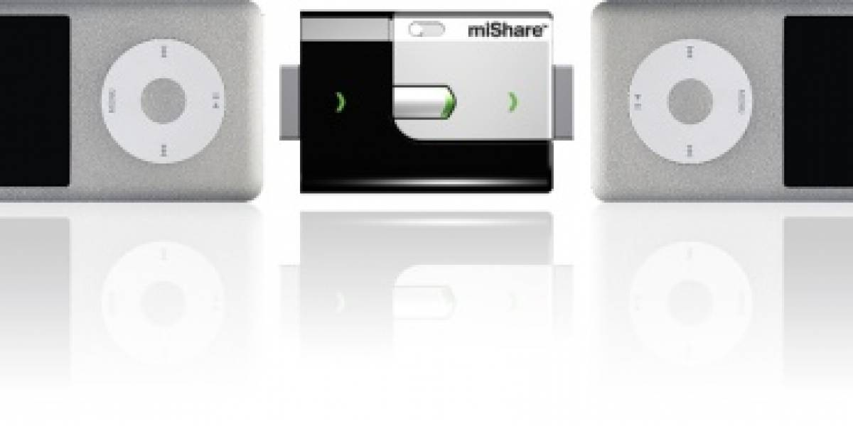 miShare, pasando música de iPod a iPod