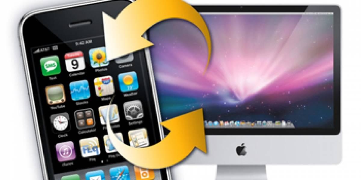 50% de los usuarios de iPhone no sincroniza su móvil con el ordenador