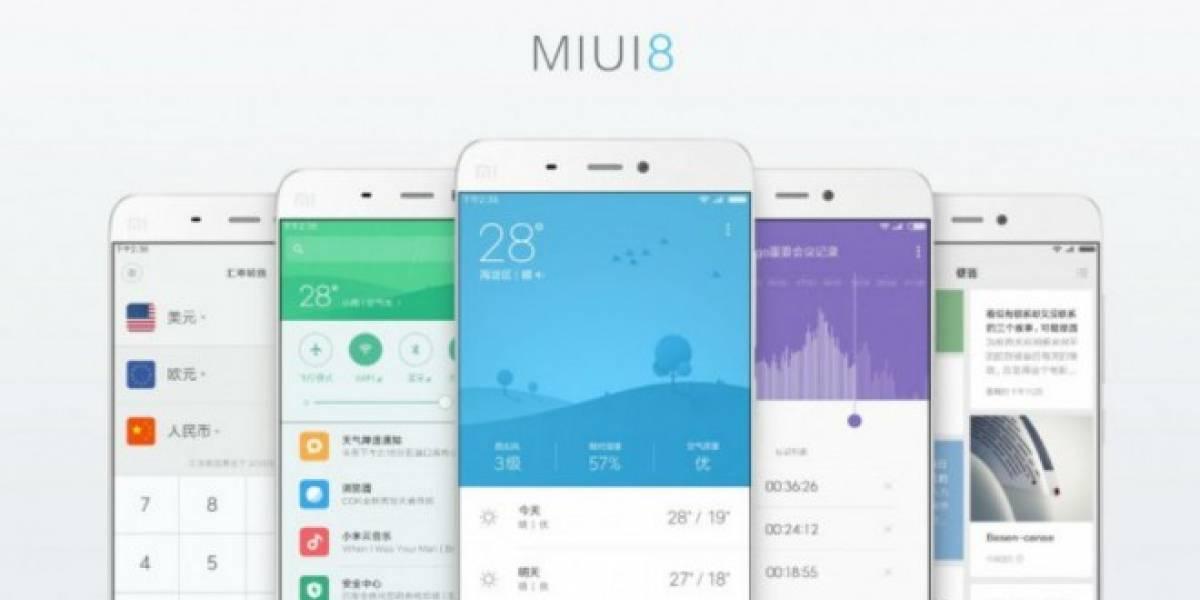 MIUI 8 ya es oficial, conoce sus principales novedades