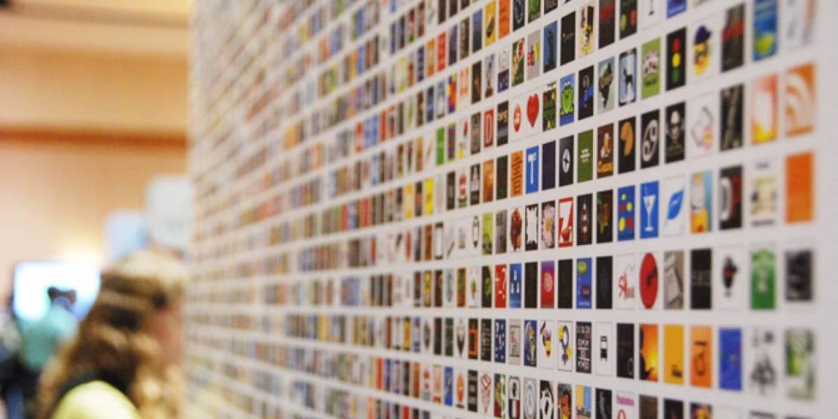 El muro de las aplicaciones de WP7