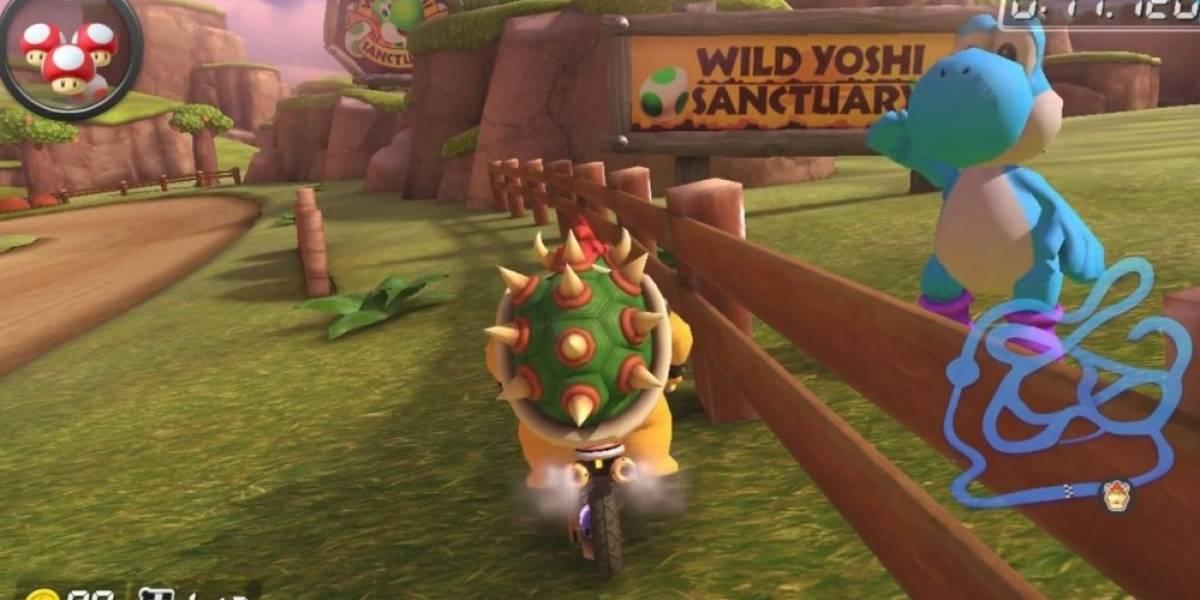 Descubren la famosa canción secreta de Nintendo en Mario Kart 8