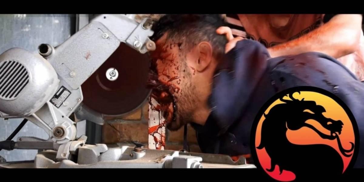Así serían las fatalities de Mortal Kombat en la vida real [NSFW]