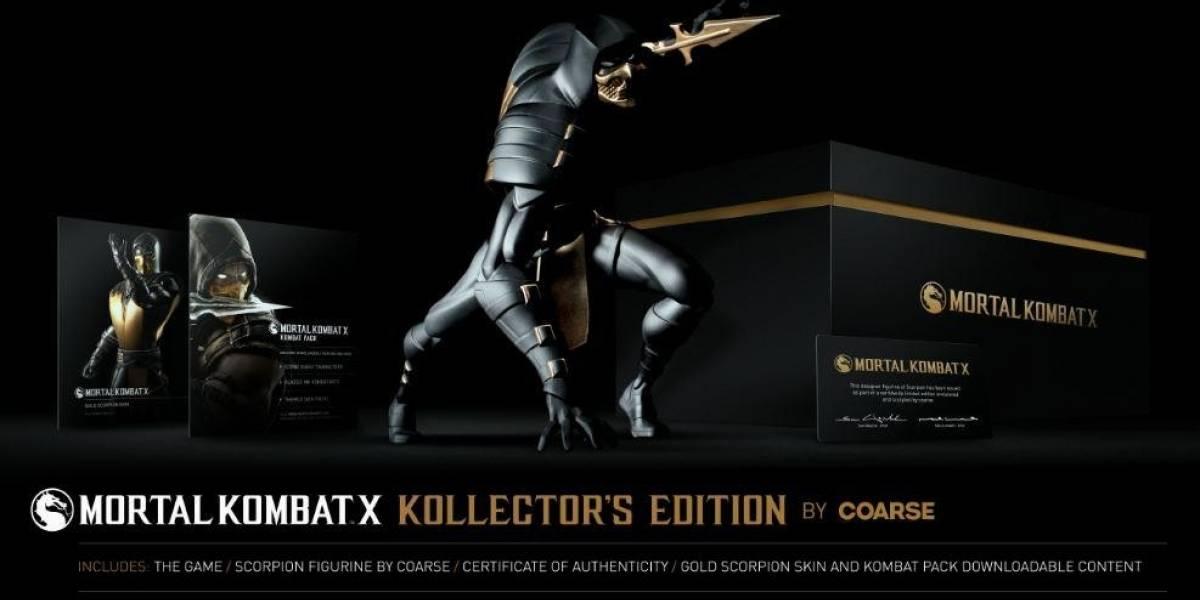 Mortal Kombat X presenta sus ediciones de colección