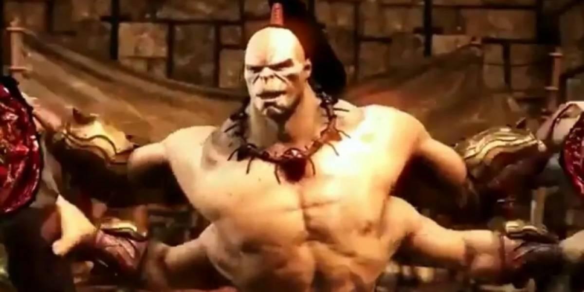 Vean a Goro en acción en nuevo tráiler de Mortal Kombat X