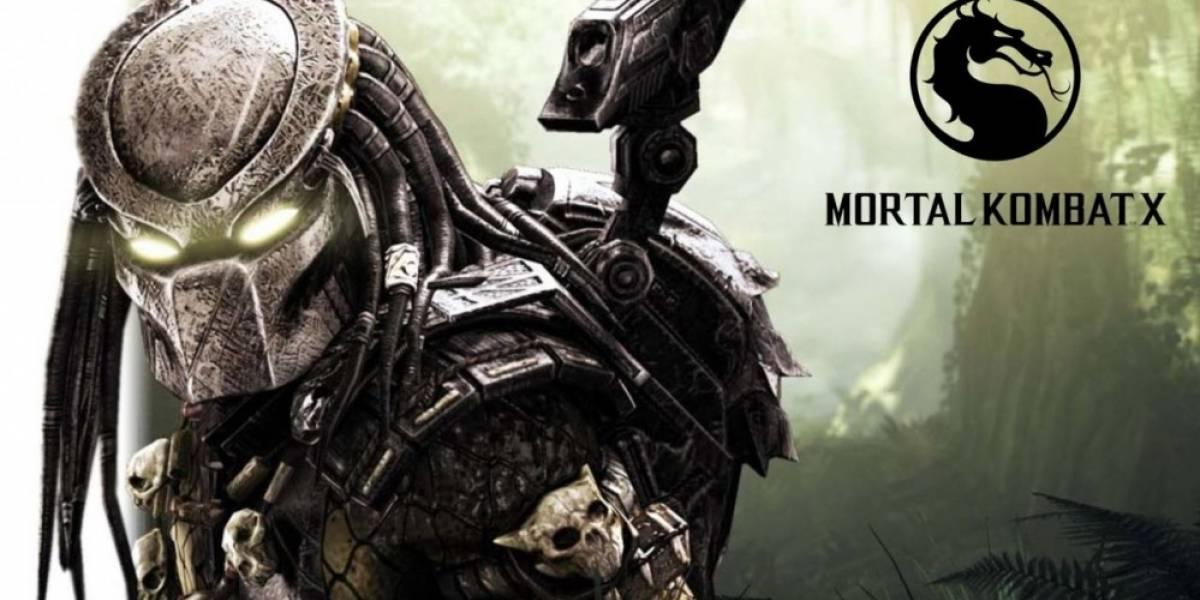 Vean a Predator en acción en Mortal Kombat X [Actualizado]