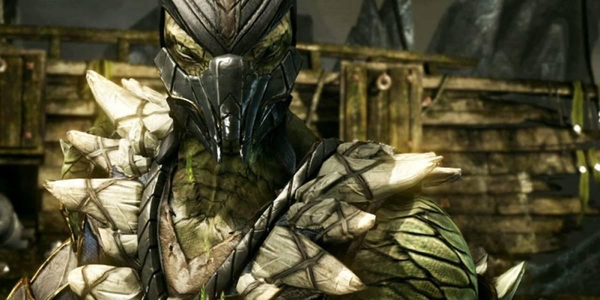 Reptile se integra a Mortal Kombat X