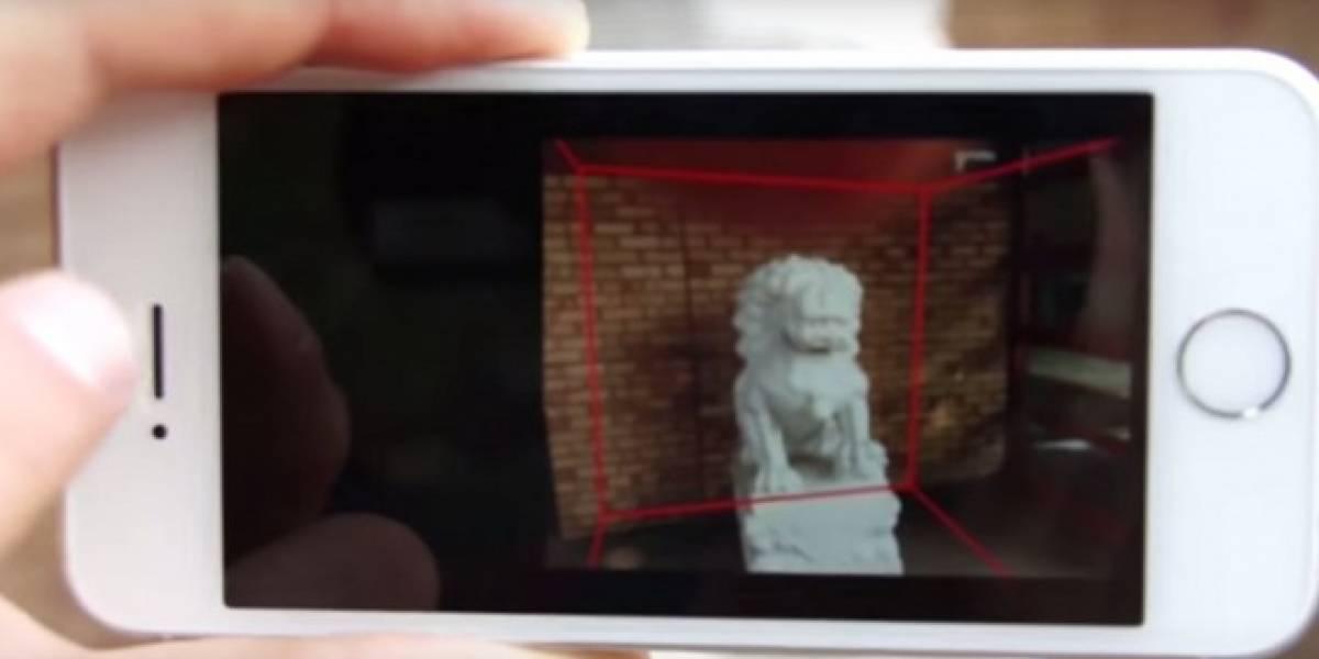 Microsoft desarrolla tecnología para capturar imágenes en 3D con la cámara de tu teléfono
