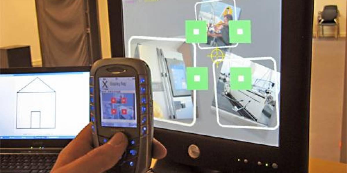 Interfaz 3D via celular