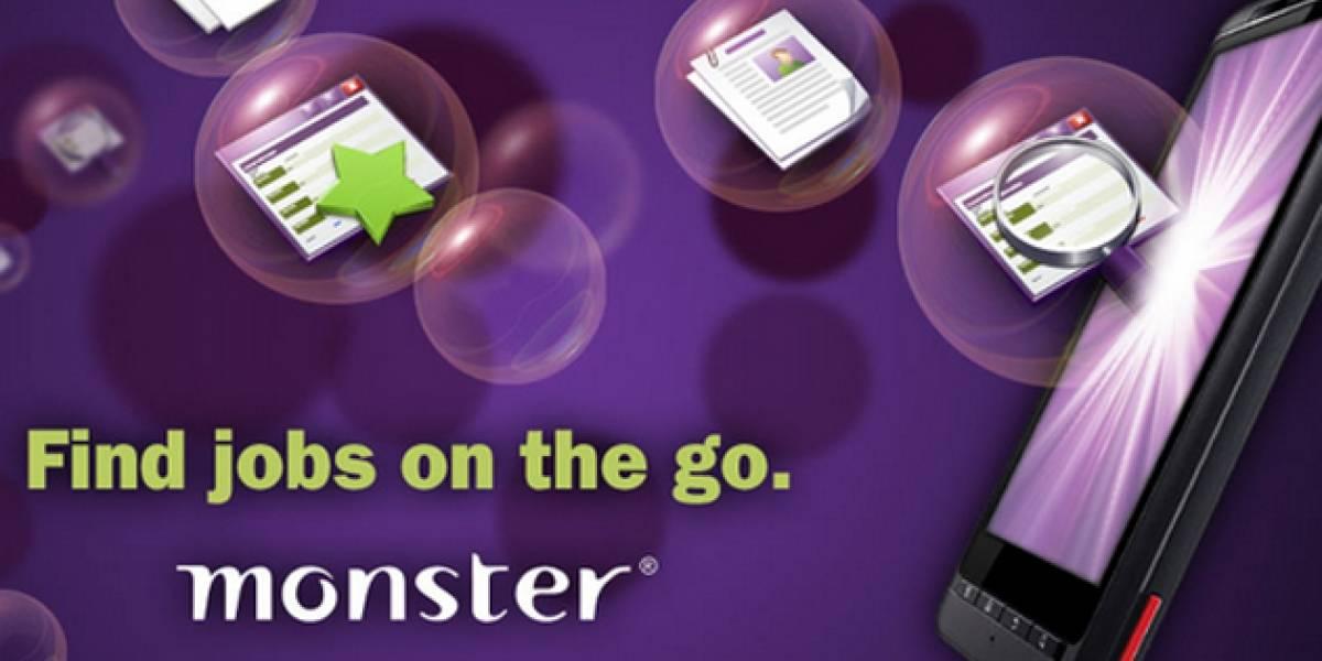 Monster lanza su aplicación de búsqueda de empleo para Android