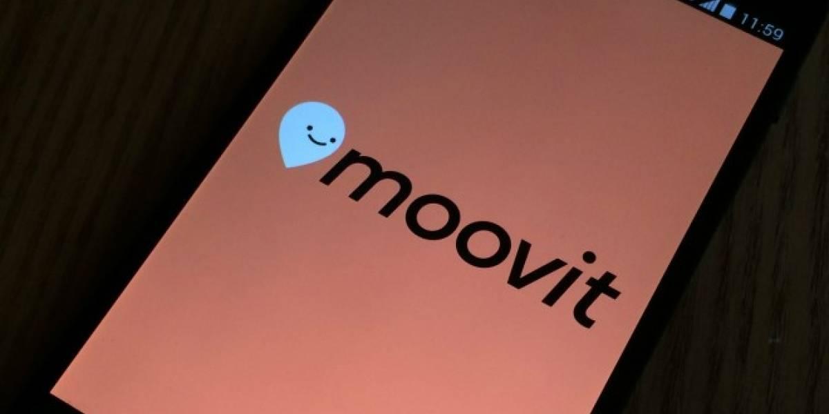 Moovit lanza nueva versión que incluye indicaciones de viaje en tiempo real