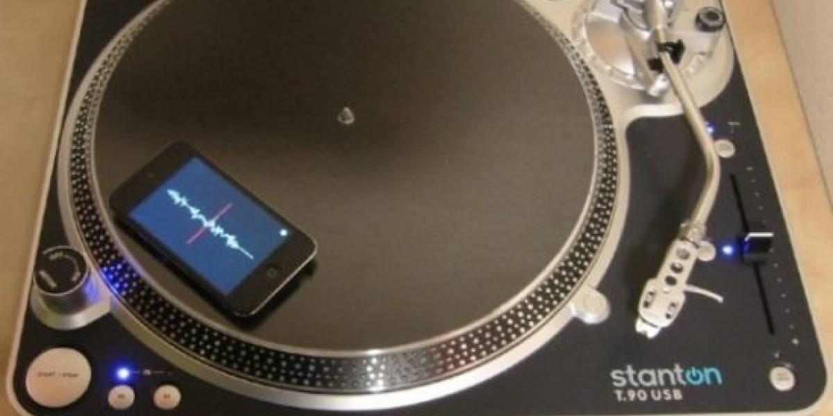 Mopho DJ convierte tu iPhone en un disco para hacer scratch