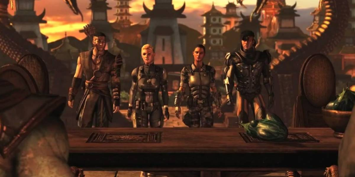Mortal Kombat X presenta su modo historia