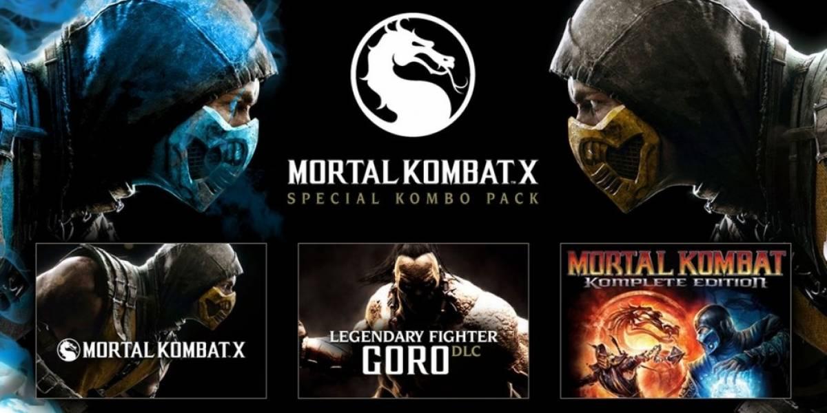 ¡Oferta relámpago de Mortal Kombat X para PC! Precompra con un 40 por ciento de descuento