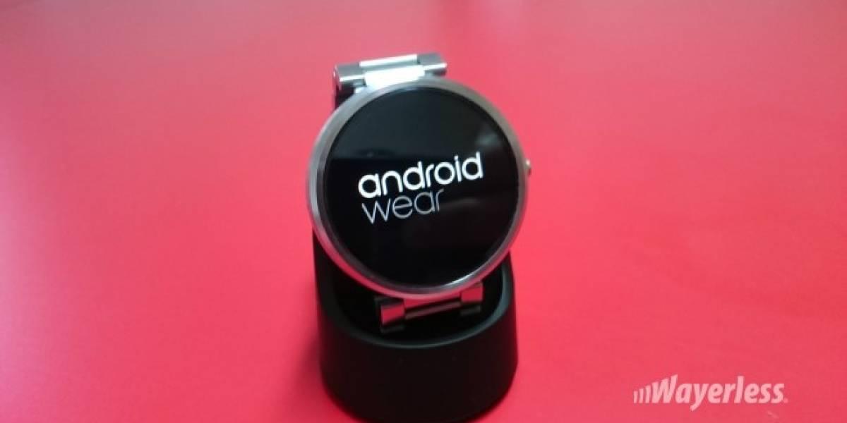 Motorola dice por qué no ha actualizado el Moto 360 a Android Wear 5.1.1