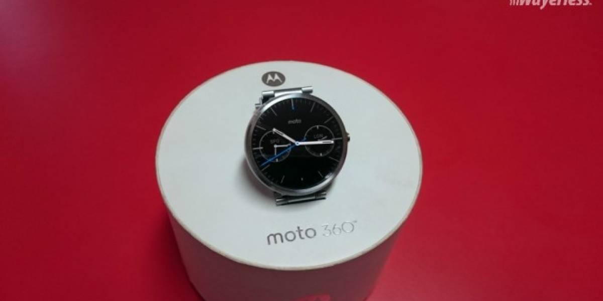 Tienda sueca revela precio y detalles de dos versiones del nuevo Motorola Moto 360