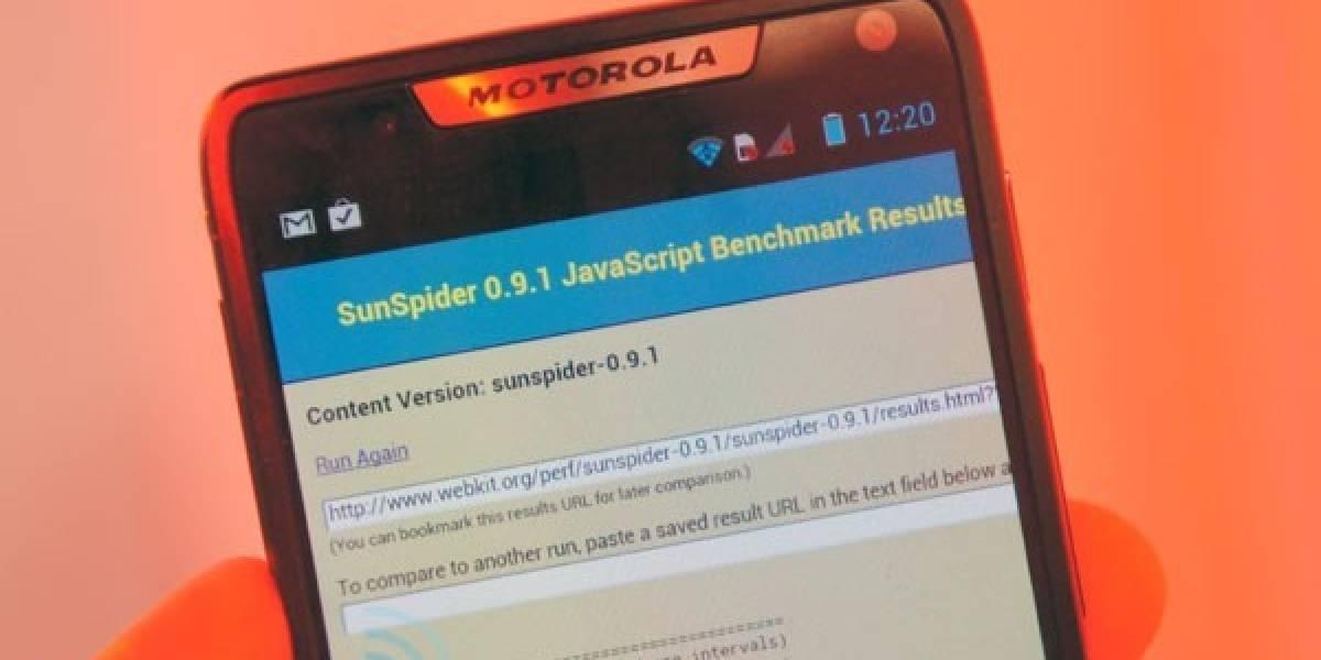 Estos son los benchmarks del Motorola RAZR i
