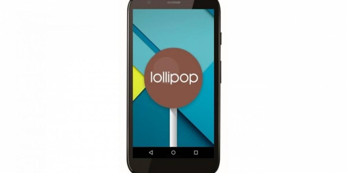 Moto G 2013 se actualiza a Android 5.1 Lollipop en Chile