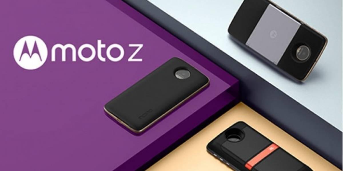Lenovo presentó los nuevos accesorios Moto Mods