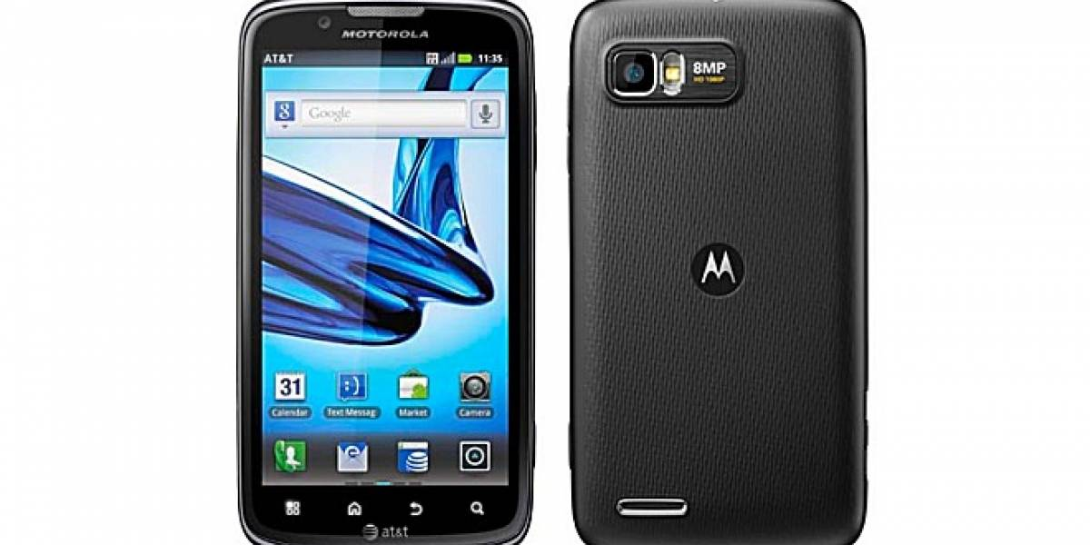 Motorola y AT&T presentan el Atrix 2