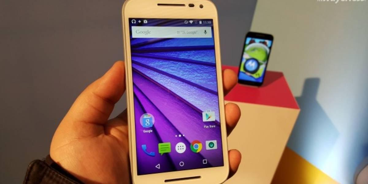 Motorola Moto G Tercera generación es sumergido al agua ¿Resistirá?