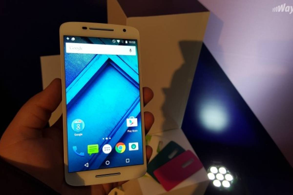 Android 6.0 Marshmallow empieza a llegar al Moto G 2015