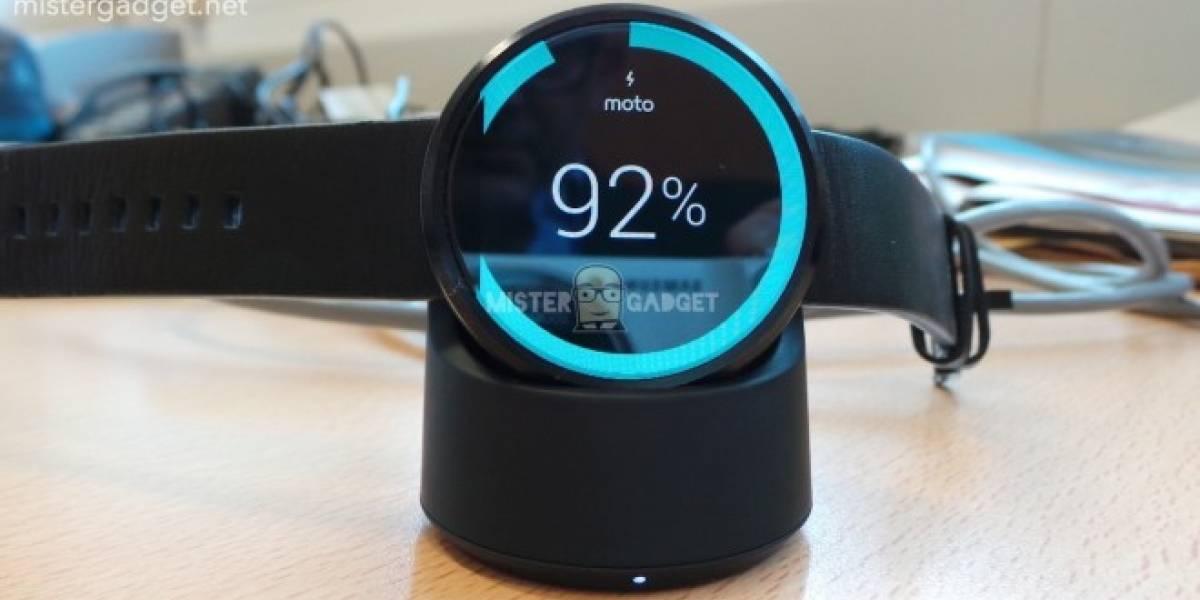 Android Wear 5.1.1 finalmente llega al Moto 360