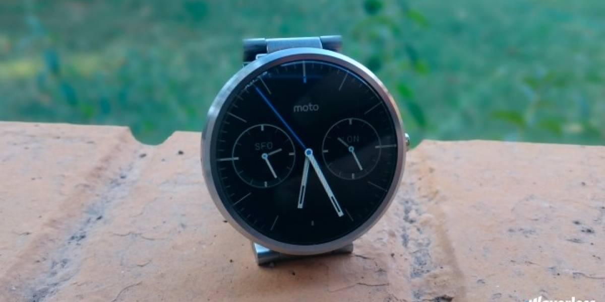 Aparecen nuevos detalles de la segunda generación del Motorola Moto 360