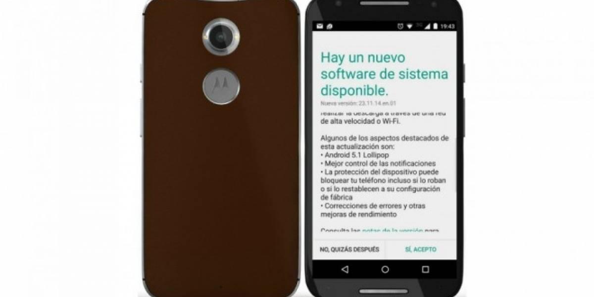 Motorola Moto X 2014 recibe nueva actualización en Chile