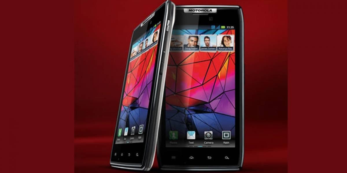 Los Motorola Razr de Europa actualizan su firmware