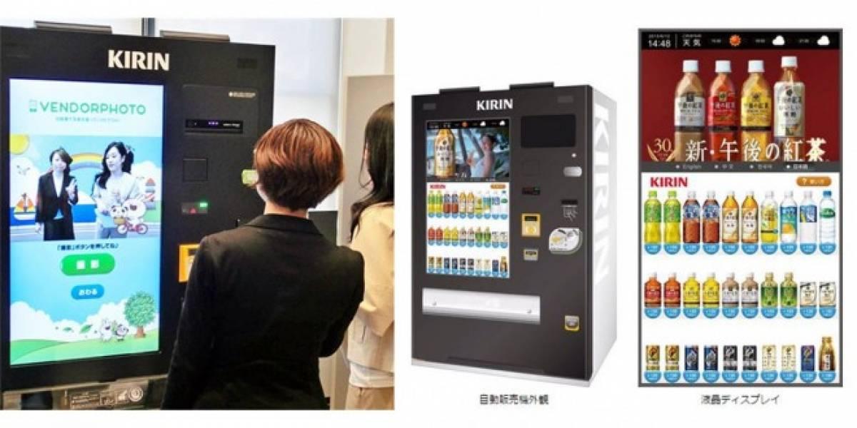 En Japón hay máquinas expendedoras de selfies
