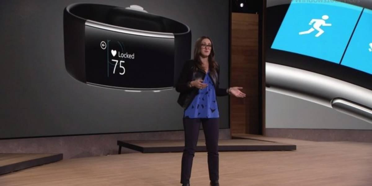 Microsoft presenta una nueva versión de Band compatible con Cortana